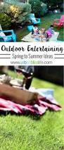 backyard spring summer outdoor entertaining ideas