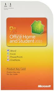 amazon com microsoft office home u0026 student 2010 key card 1pc 1user
