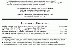 Nursing Resume Examples With Clinical Experience by Er Registered Nurse Resume Examples Reentrycorps