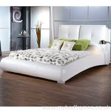 leather bed frames diaz grey faux leather bed frame dreams beds
