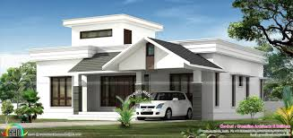 Low Cost Home Design by Low Budget Beautiful Kerala House Designs At 1195 Sq Ft
