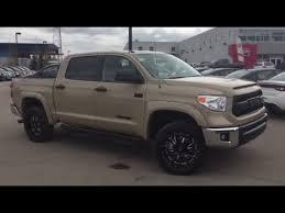 2017 toyota tundra trd four wheel drive crew max cab in quicksand