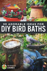 Bird Bath Decorating Ideas Best 25 Diy Bird Bath Ideas On Pinterest Bird Baths Clay Pot