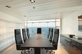 luxury modern home office desk design idea in black with silver