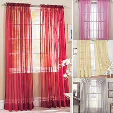 Multi Colored Curtains Drapes Multi Styles Door Window Curtains Drape Panel Or Scarf Assorted