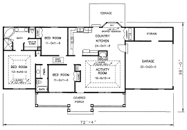 Retirement Home Design Plans Best Selling Retirement House Hartridge First Floor Plan 2 Simple