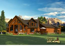 french country log home plans