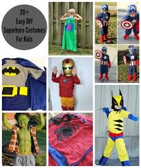 Fantastic 4 Halloween Costumes 25 Superhero Costumes Kids Ideas Easy