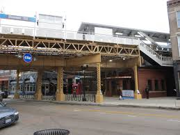 Chicago Airport Train Map by Public Art On The Cta