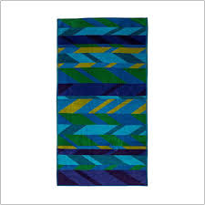 buy egyptian cotton beach towel viva blue at star style home