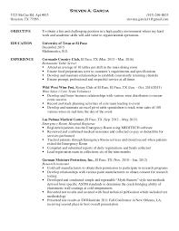 Business Development Job Description Resume by Resume