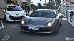 Ferrari 458 Blue - ferrari 458 italia 2 february 2017 autogespot