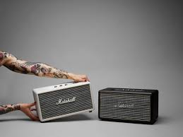 Beautiful Speakers Marshall U0027s First Wireless Speaker Adds A Touch Of Analog With Big