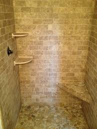 Bathroom Shower Stone Contemporary Bathroom Boston By - Bathroom shower stall tile designs