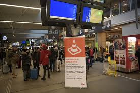 train services resume at montparnasse station after day of train