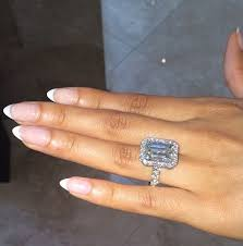 10 karat diamond ring lozada s 14 5 carat emerald cut diamond ring