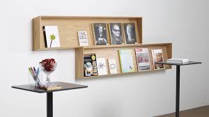 furniture pine laminate wall mount magazine rack hanging