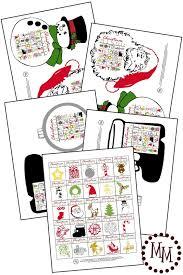 christmas bingo design dazzle