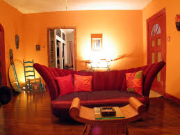 interior design living room brown and red house decor picture