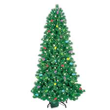 shop ge itwinkle 7 5 ft pre lit pine artificial tree