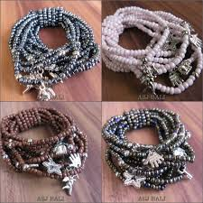 glass bead bracelet charms images Beads bracelet indonesian wholesale bead bracelet wholesaler jpg