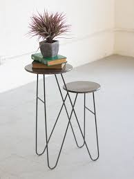 Wire Side Table Tier Wire Side Table Brickell Collection Modern Furniture