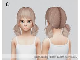 childs hairstyles sims 4 ts4 himiko child the sims 4 download simsdom
