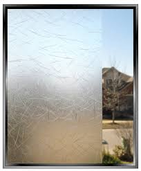 Artscape New Leaf Decorative Window Film by Etched Window Film Cut Grass Decorative Privacy Window Film