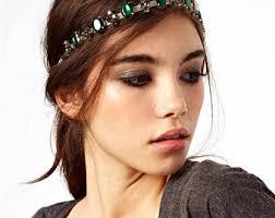 jewelled headband etsy