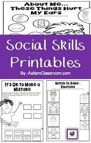 46 best social skills special education images on pinterest