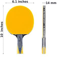 table tennis dimensions inches sport game pro ping pong paddle yellow jt 700 case for free table