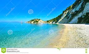 Ithaca Greece Map by Gidaki Beach In Ithaca Greece Stock Photo Image 59173501