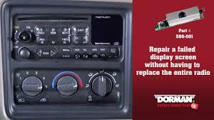 dorman ford radio power supply board install 586 001 video
