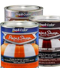 paint shop automotive lacquer finish system quart dupli color