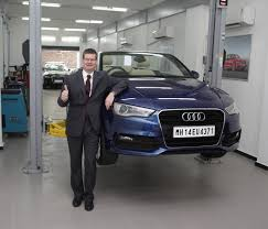 audi dealership cars audi india inaugurates its first technical service centre