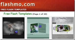 download free flash templates at flashmo