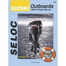 amazon com seloc suzuki 4 stroke outboard engine repair manual