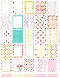 free printable planner stickers butterfly ausdruckbare floral planner stickers