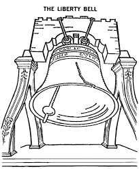 free printable bell coloring pages for kids