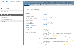 Default Size Of Business Card Office 365 Now Supports Larger Email Messages U2014up To 150 Mb