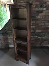 narrow bookcase old charm narrow bookcase in coventry west midlands gumtree