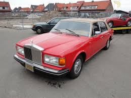 roll royce red classic 1981 rolls royce silver spur sedan saloon for sale 649