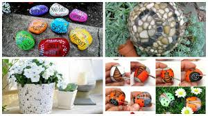 Diy Craft Projects For The Yard And Garden - 10 charming diy garden pebble art ideas garden lovers club