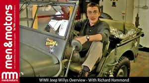 wwii jeep willys wwii jeep willys overview with richard hammond youtube