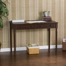 Small Writing Desk With Drawers Highland Black 2 Drawer Desk Free Shipping Today Overstock
