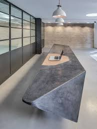 Concrete Reception Desk Cast Concrete Reception Desk Search Reception Lounge