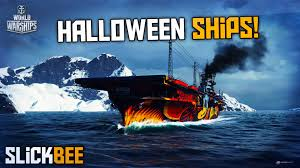 world of warships halloween ships the salem witch and phantom