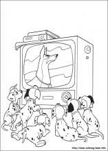 101 dalmatians coloring pages coloring book