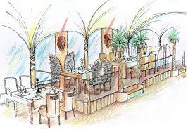 Restaurant Design Concepts Restaurant Lounge Bar Interior Design Concept Planning In
