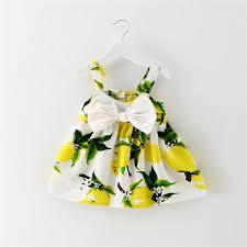 2017 lemon tank top newborn baby skirts design baby